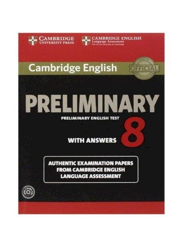 Cambridge Preliminary English Test 8 With Answers Audio Www Youtube Com Channel Uckpkakcnfdb3rqc4d Niyjg Pdf Document